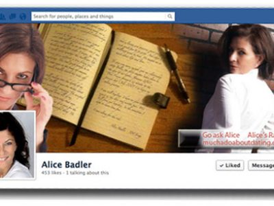 Alice Badler Facebook Banner