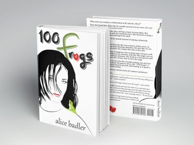 100 frogs book cover layout